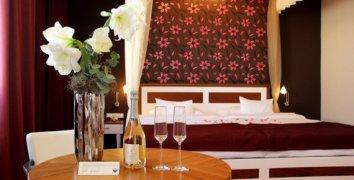 Noc pro dva ve svatebním apartmá hotelu Baltaci Atrium***** ve Zlíně
