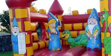 Pronájem skákacího hradu pro děti na celý den
