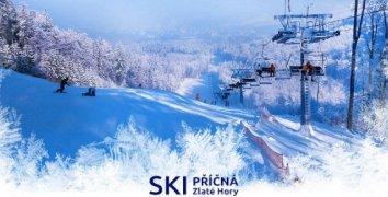 Celodenní lyžovačka ve Zlatých Horách - SKI PŘÍČNÁ