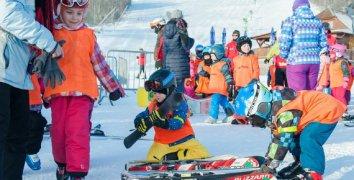 Voucher na výuku lyžování nebo snowboardingu s Newman School