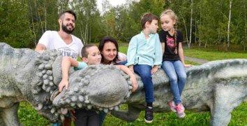 Rodinná vstupenka do DinoParku Ostrava