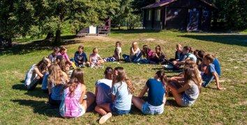 Letní dětský tábor na 10 dnů v Moravském Berouně