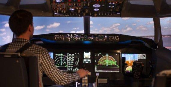 Novinka! Zažijte let jako v opravdové pilotní kabině