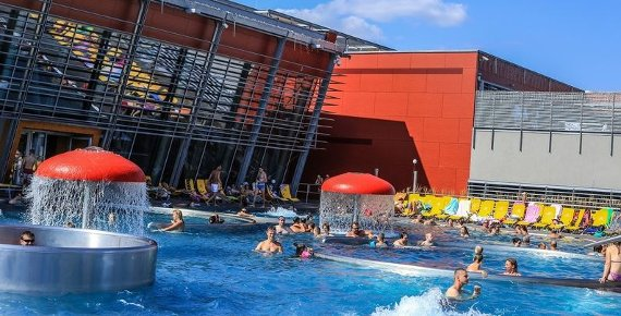 Rodinná vstupenka do Aqualandu Moravia v Pasohlávkách