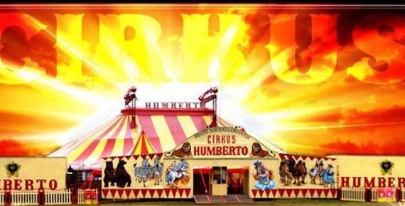 2 vstupenky do cirkusu HUMBERTO v Opavě