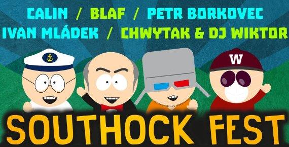 Lístek na open air festival Southock Fest 25.5.2018 v Jablunkově