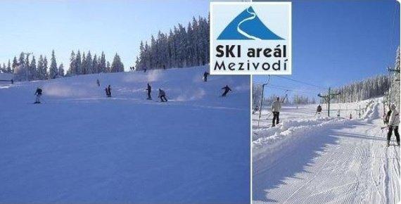 Celodenní skipas do ski areálu Mezivodí v Beskydech