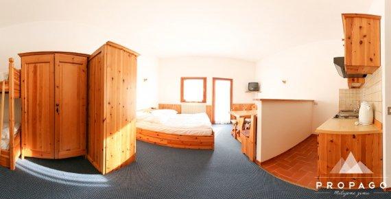 Zimní dovolená v italských Dolomitech na 5 nocí s ubytováním přímo u sjezdovky
