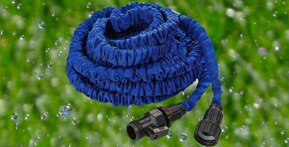 Smršťovací zahradní hadice na vodu