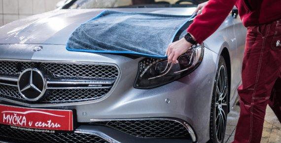 Kompletní péče o Váš vůz v myčce v Ostravě