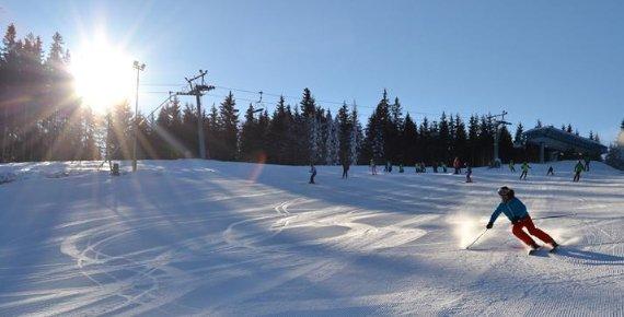 Lyžovačka ve Ski Aréně Karlov - celodenní skipas pro 1 osobu