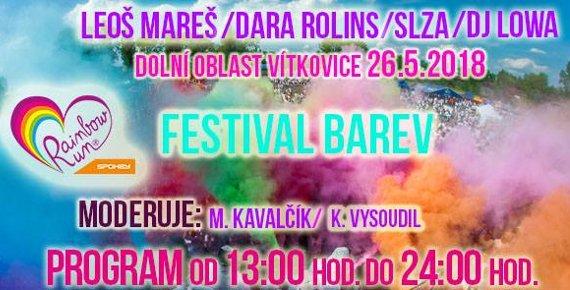 2 lístky na Spokey Rainbow Run v Ostravě 26.5.2018