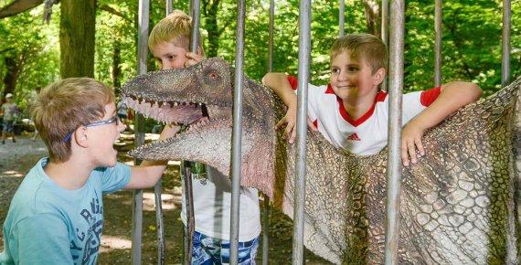 Rodinná vstupenka do DinoParku Vyškov