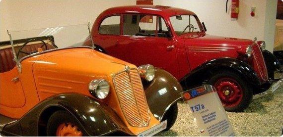 Vstupenka pro 2 osoby do Technického muzea Tatra v Kopřivnici