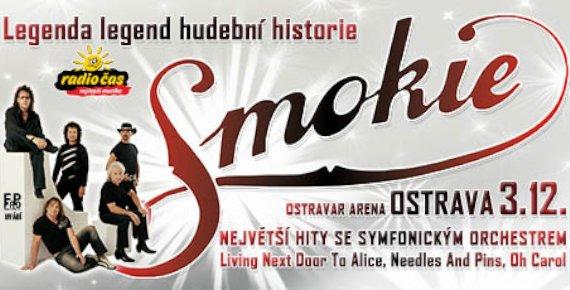 1+1 lístek zdarma na SMOKIE - THE SYMPHONY TOUR 2018 v Ostravě, 3.12.2018