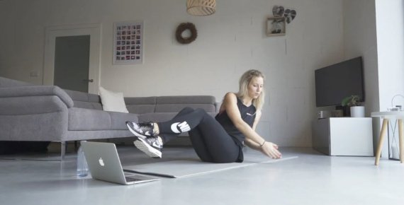 Fitness lekce u Vás doma - měsíční členství na Online Fitness