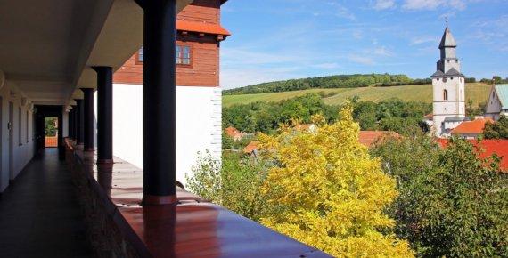 Noc pro dva se snídaní a wellness na jižní Moravě