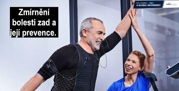 EMS trénink s profesionálním trenérem u Vás doma nebo na firmě