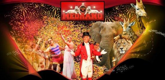 Dětská vstupenka do italského cirkusu MEDRANO v Ostravě!