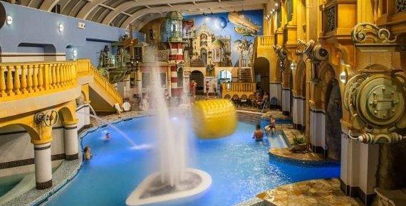 3 dny pro DVA ve WELLNESS HOTELU BABYLON se vstupy do AQUAparku, LUNAparku, IQ parku, iQlandie