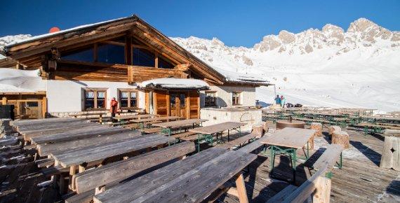 Zimní dovolená v italských Dolomitech 26.12.2018 - 2.1.2019