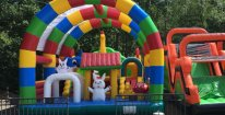 Vstup do dětského zábavného světa a minizoo Skalka Family Park Ostrava + 6 jízd autíčkem nebo na tubingové dráze