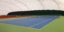 Hodina tenisu v hale nedaleko centra Olomouce