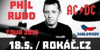 Lístek na PHIL RUDD & his BAND 18.5.2018 v Jablunkově