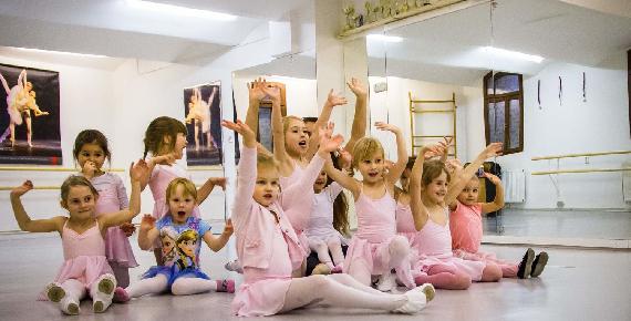 Baletní kurz pro děti