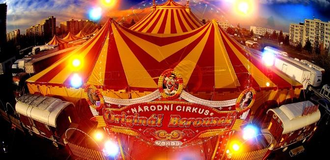 ilustrační obrázek ke slevové akci: Vstupenka  do Národního Cirkusu Originál Berousek