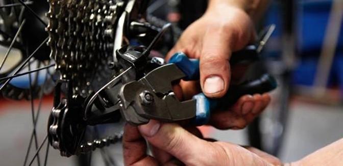 ilustrační obrázek ke slevové akci: Kompletní servis jízdního kola