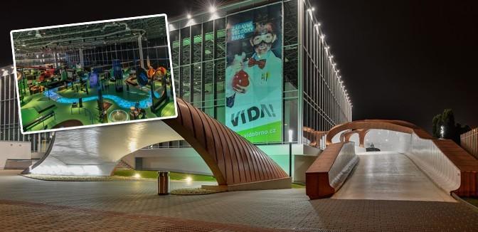 ilustrační obrázek ke slevové akci: Rodinné vstupné do zábavního vědeckého parku VIDA