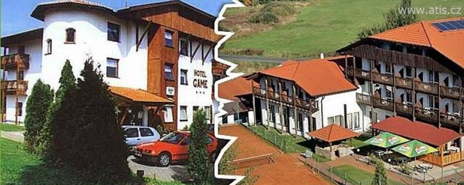 Pobyt v esk m lese v hotelu game pro 2 osoby na 2 noci for Small hotel groups
